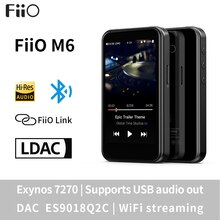 FiiO M6 Hi-Res Android Based Music Player with aptX HD, LDAC HiFi Bluetooth, USB Audio/DAC,DSD Suppo