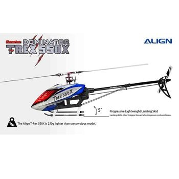 Original AlIGN T-REX 550X 2.4GHz 6CH RC Helicopter Kit Fits