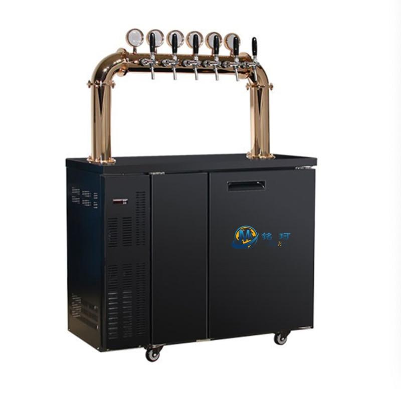 كوب بيرة ستانلس ستيل برودة kegerator مشروع موزع الجعة آلة برج مع سعر المصنع barole دي chupe تختمر برميل البيرة الخشبي