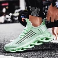 Grand nombre leger Homme chaussures Sport hommes baskets ete chaussures de course hommes chaussures de Sport course vert Chassure Homme E-558