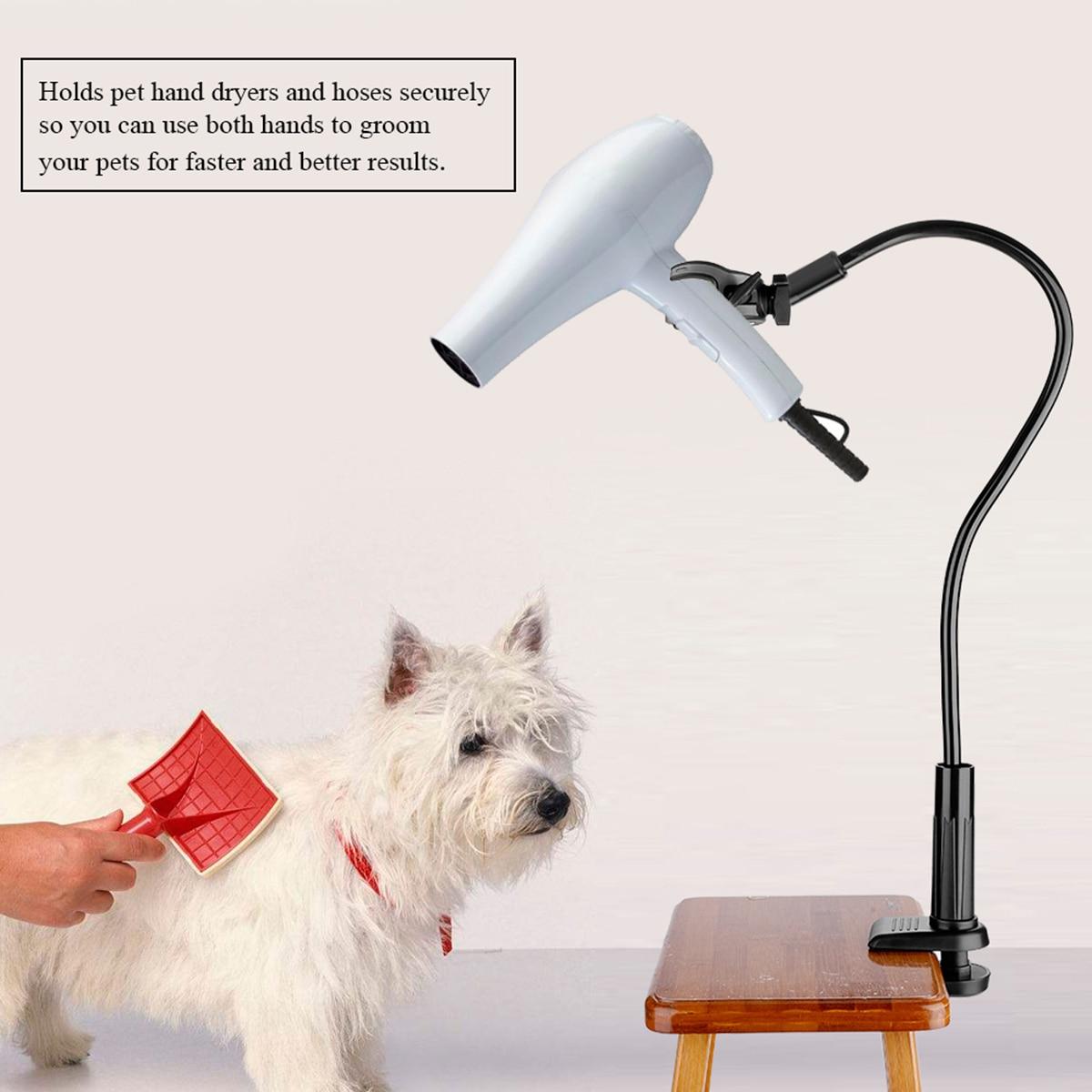 Nosii Venta caliente secador de mascotas perros gatos aseo Mesa brazos secador de pelo abrazadera 3 estilos aseo Clip soporte marco tirantes