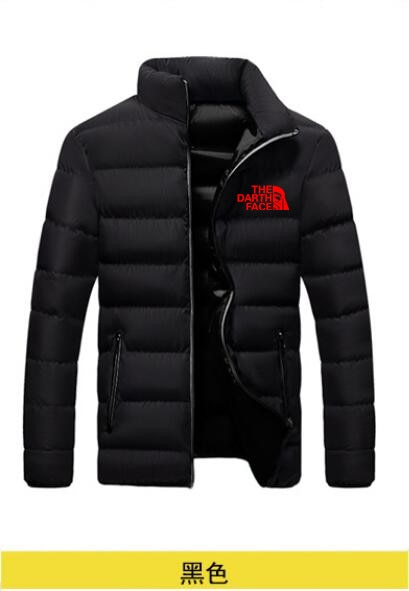 Fall and winter down jacket for men casual stand collar thickened parka portable coat windproof down jacket 5XL