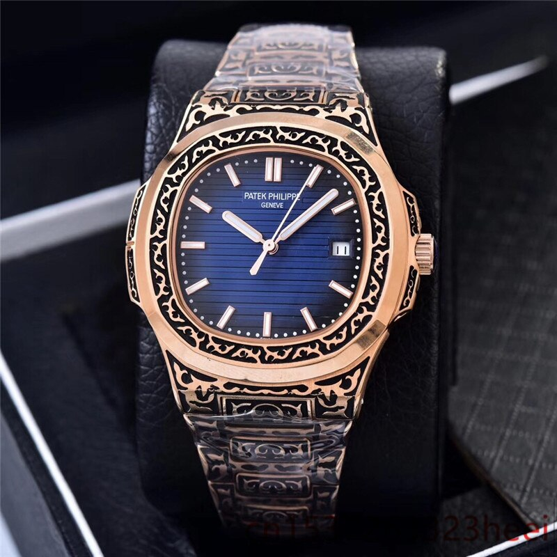 watch men's skeleton automatic mechanical AAA watch gold skeleton retro men's women watch quartz watch enlarge