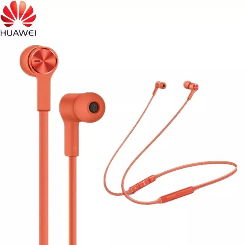 Original Huawei FreeLace Wireless Earphone Bluetooth Sport waterproof in-ear Memory Cable Metal Cavity Silicon magnetic switch
