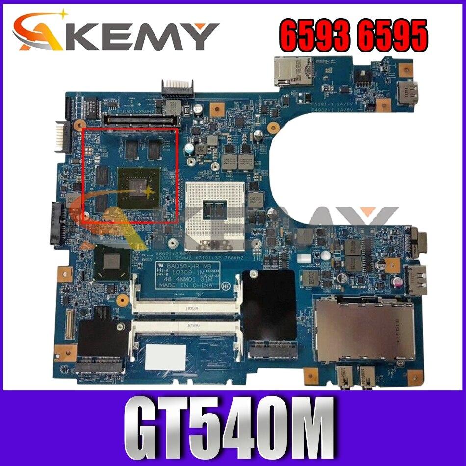 AKEMY 48.4NM01.01M para Acer Aspire 6593 6595 MBV4C01001 MB V4C01.001 placa base...