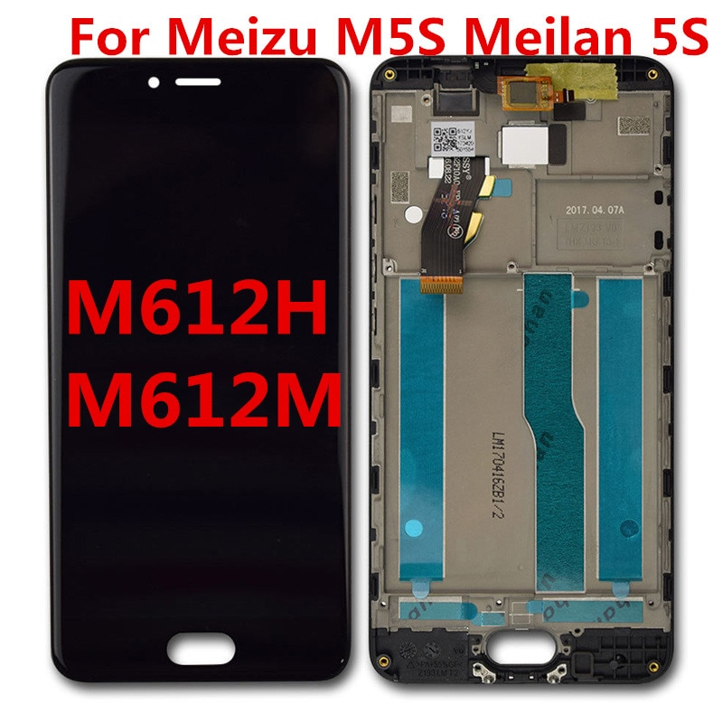 For Meizu M5S Meilan 5S M612H M612M LCD Display Touch Screen Mobile Phone Lcds Digitizer Assembly Re