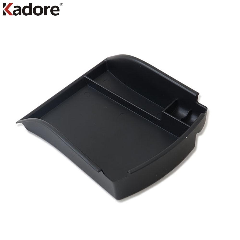 For Hyundai Santa Fe 2019 2020 Plastic Car Armrest Storage Box Cover Center Console trays accessories