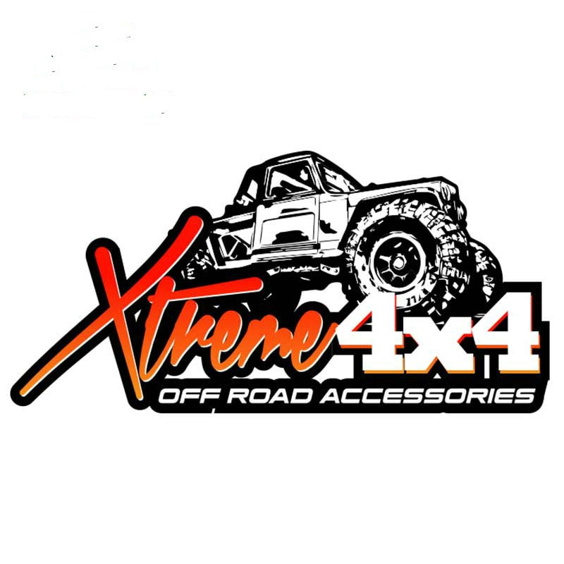Автомобильные водонепроницаемые наклейки с логотипом 4x4 для внедорожника, мотоциклетные наклейки, водостойкие флэшки, ПВХ 6,3 см X 13 см