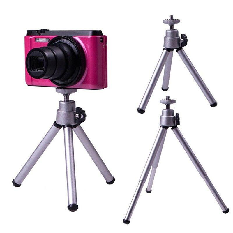 Mini Tripod + Clip Stand Bracket Holder Mount Adapter For Gopro Camera Digital Camera Self-Timer Smartphones For iphone Samsung