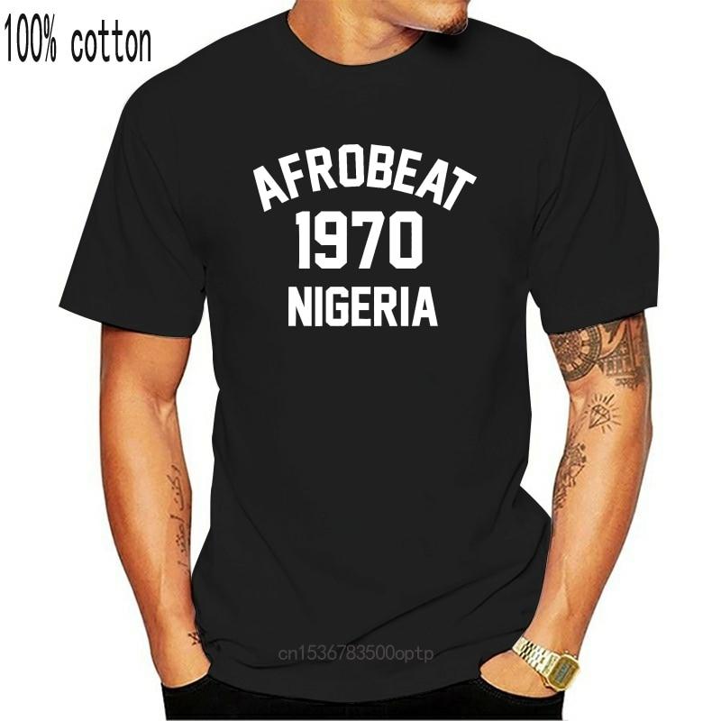 Afrobeat 1970 T-Shirt 100% Premium Baumwolle Fela Kuti Dünne
