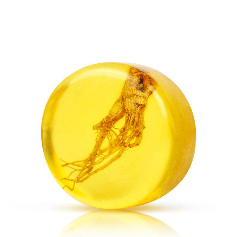 Żeń-szeń rewitalizujące mydło anty grzyb kąpiel wybielanie skóry rozjaśniające mydło ręcznie twarzy ciało 2 w 1 mydło