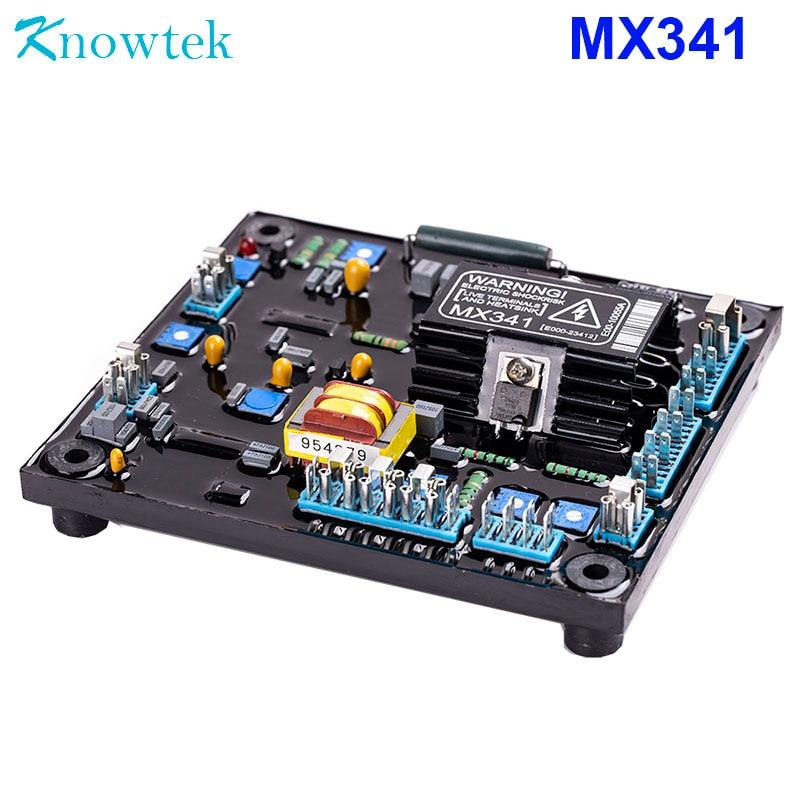 منظم جهد كهربائي أوتوماتيكي, AVR MX341 للمولد بدون فرش