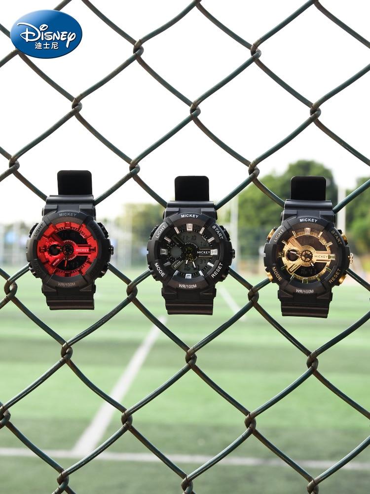 Genuine Disney Children's Electronic Watch Middle School Student Boy Waterproof Sports Watch Boys Day Gift Wrist Watch for Kids enlarge