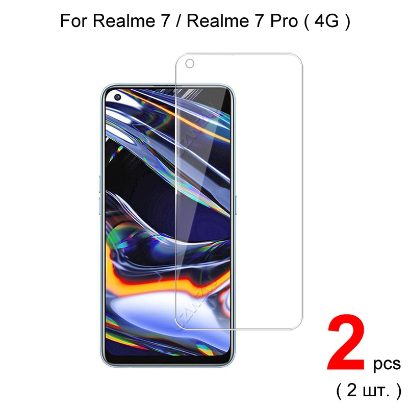 for-realme-7-pro-7-explosion-proof-25d-026mm-tempered-glass-screen-protector-protective-glass-film-guard