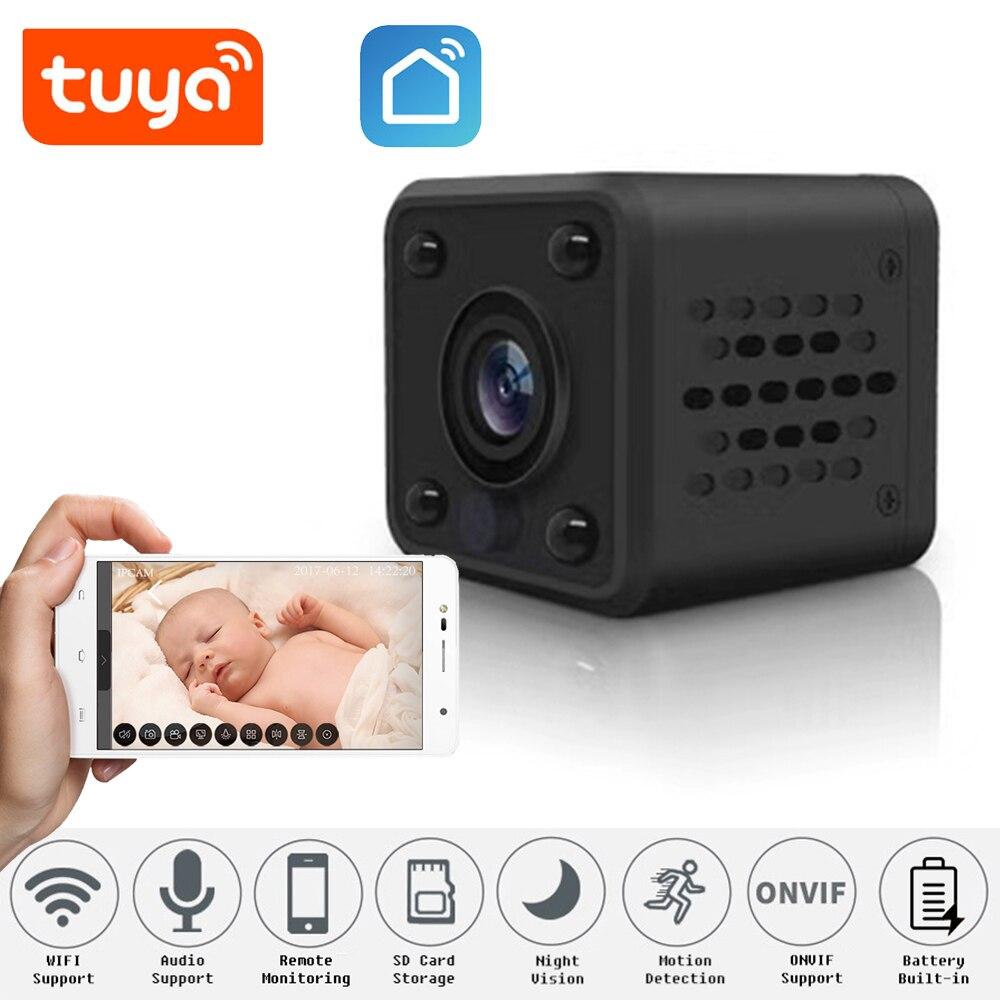1080P الذكية الصغيرة كاميرا IP واي فاي كاميرا لاسلكية الأمن كاميرا صغيرة ONVIF P2P CCTV مراقبة للرؤية الليلية