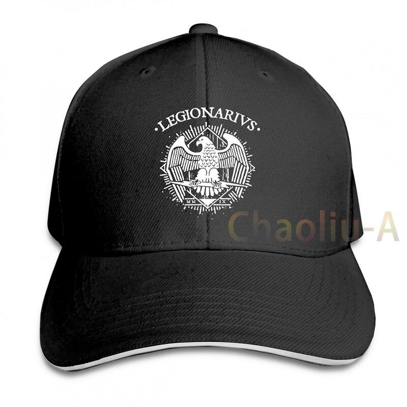 Maglietta Legionarius Maglia Roma Legione Romana Spqr Legiões Romanas cap boné de Beisebol das mulheres dos homens Chapéus Do Camionista moda ajustável