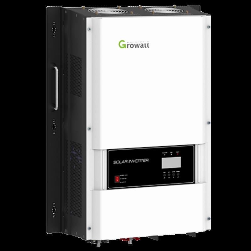 Growatt DVM الولايات المتحدة الإصدار عاكس الطاقة الشمسية خارج الشبكة 6Kw 8Kw 10Kw 12Kw الشمسية إنفيرسور سبليت المرحلة احتياطية PV محول