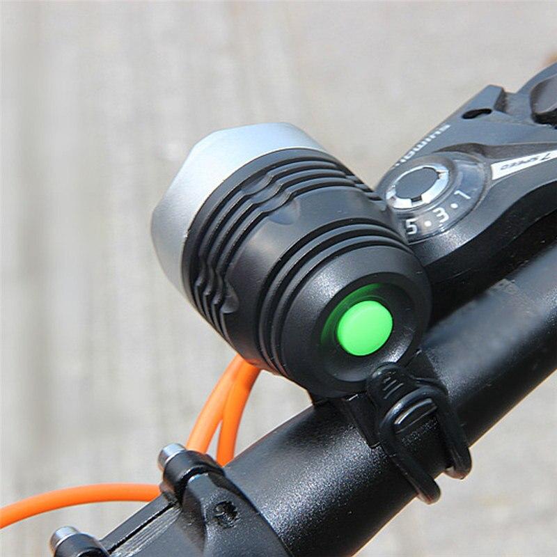 Interfaz LED para bicicleta, 3000 lúmenes, XML, Q5, faro de 3 modos,...