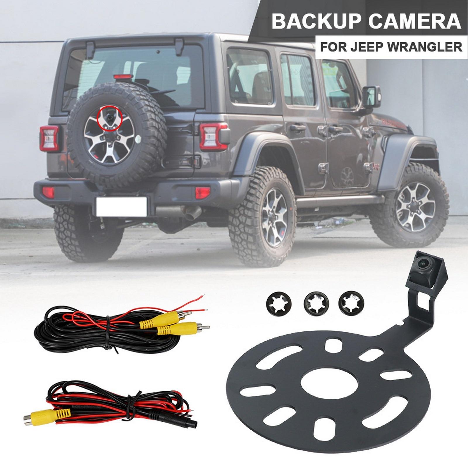 Автомобильная камера заднего вида для Jeep Wrangler, новая IP67 водонепроницаемая резервная камера заднего вида для Wrangler + OEM радио Видео жгут