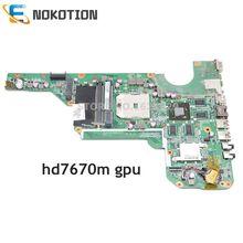 NOKOTION 683031-501 683031-001 Carte Mère Dordinateur Portable pour HP G6 G4 G7 G6-2000 G4-2000 G7-2000 DA0R53MB6E0 DA0R53MB6E1 HD7670 2G