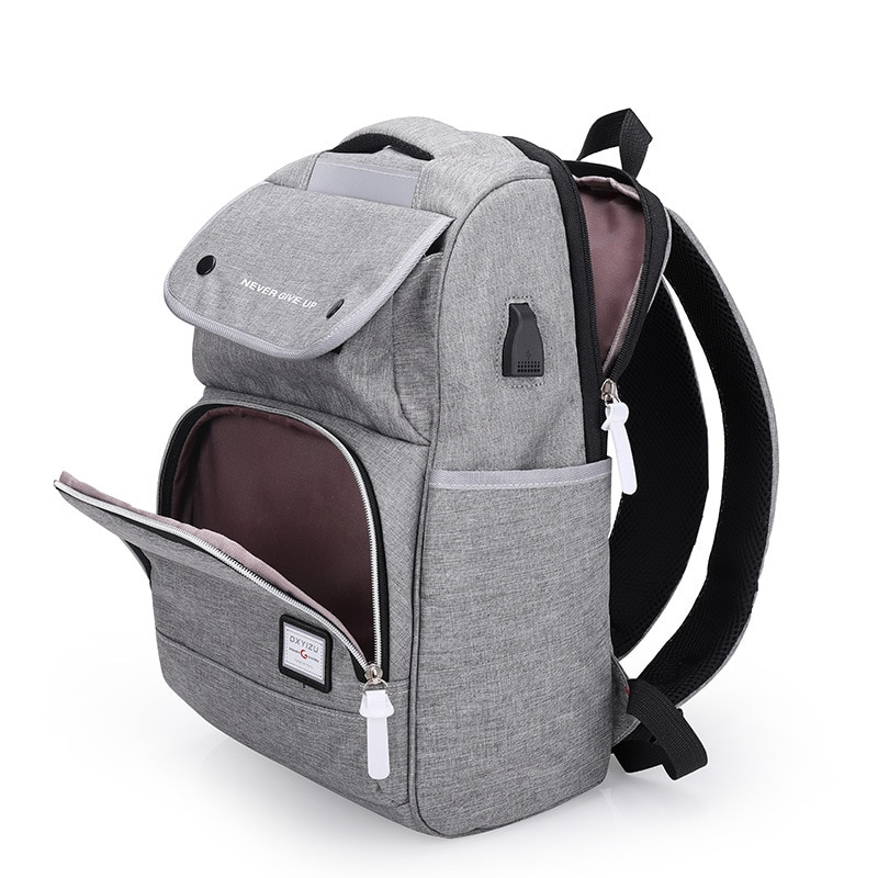 Backpack New Men's and Women's Oxford Cloth Waterproof Travel Bag Middle School Student Campus Schoo