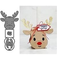 deer straw box metal cut dies stencils for scrapbooking stampphoto album decorative embossing diy paper cards