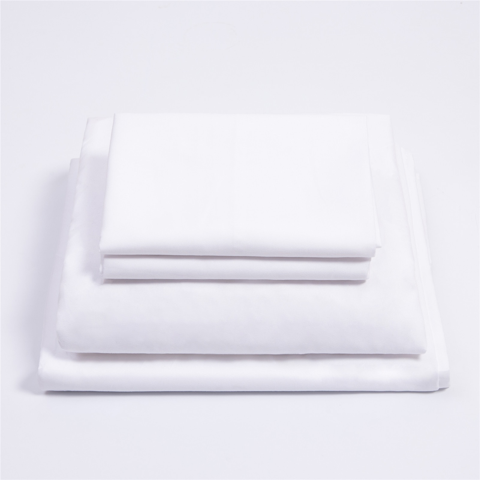 aliexpress - Nordic Solid Color Bed Sets Bed Sheet Bed Cover Fitted Sheet Pillowcases Bedding Sheet for Bedroom Bedclothes King Size 4PCS