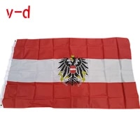 free shipping xvggdg austria flag 90x150cm 3x5 feet home decoration hanging flag banner for sports