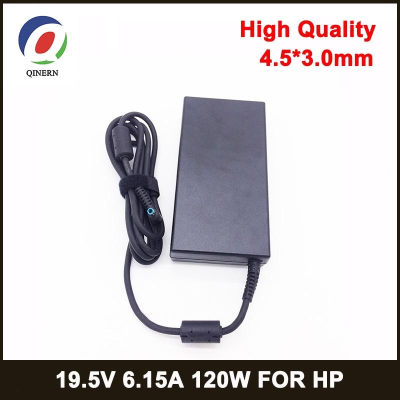 120W 19.5V 6.15A 4.5*3.0mm Laptop Adapter FOR HP ENVY 15 17 15-J013TX  J015T 15-AX033 HSTNN-CA25 Cha