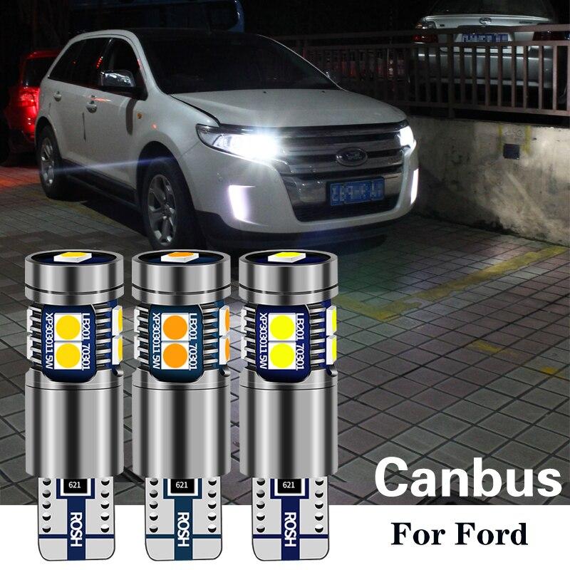 1 Uds W5W T10 194 LED liquidación de bombillas para ford focus 2 mk2 3 mk3 mk1 fiesta mk7 mondeo mk4 explorer kuga fusión ranger c.