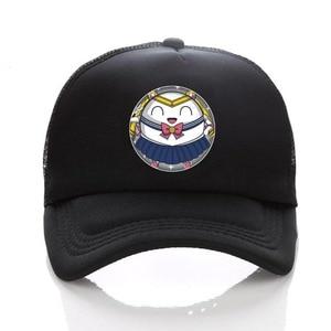anime printing cute cartoon cosplay adjusted baseball snapback hat cotton Mesh funny Novelty cap