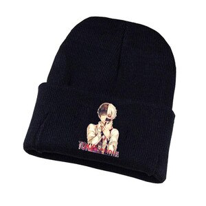 Game Tokyo Ghoul Knitted hat Cosplay hat Unisex Print Adult Casual Cotton hat teenagers winter Knitted Cap