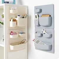 household paste type wall shelf bathroom wall storage rack free perforation wall hanging shelf kitchen organizer storage shelf