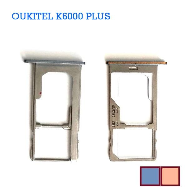 Фото - New Original Oukitel K6000 Plus Sim Card Holder Tray Card Slot For Oukitel K6000 plus Repair Fixing Part Replacement Reader new sim card holder tray card slot replacement for oukitel k6000 plus mtk6750t octa core 5 5 fhd 1920x1080