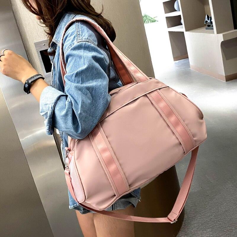 Dry and Wet Separation Swimming Bag Waterproof Shoulder High Capacity Gym Bag Travel Women Bolsa Deporte Sport Bags BN50SB