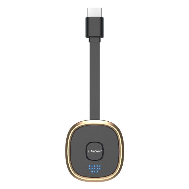 Mirascreen G19 4K واي فاي تدفق الفيديو استقبال لاسلكي عرض دونغل محول HDMI