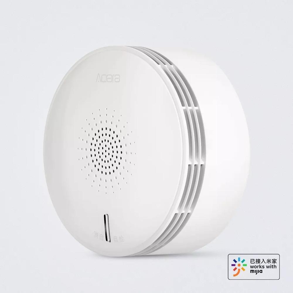 Xiaomi Mijia NB-IoT Smoke Sensor Security APP Remote Alarm Sound & Light Reminder Real-time Monitor From Xiaomi Ecosystem
