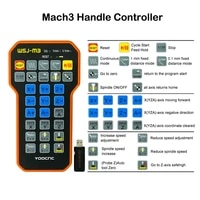 yoocnc mach3 manual remote handle controller mpg usb wireless handwheel for cnc router