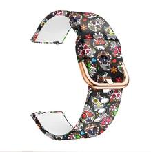 P68 حزام سوار Smartwatch النساء P70 P80 Smartwatch Q9 فرقة سيليكون زهرة حزام الساعات لينة المطاط المعصم حلقة الفتيات