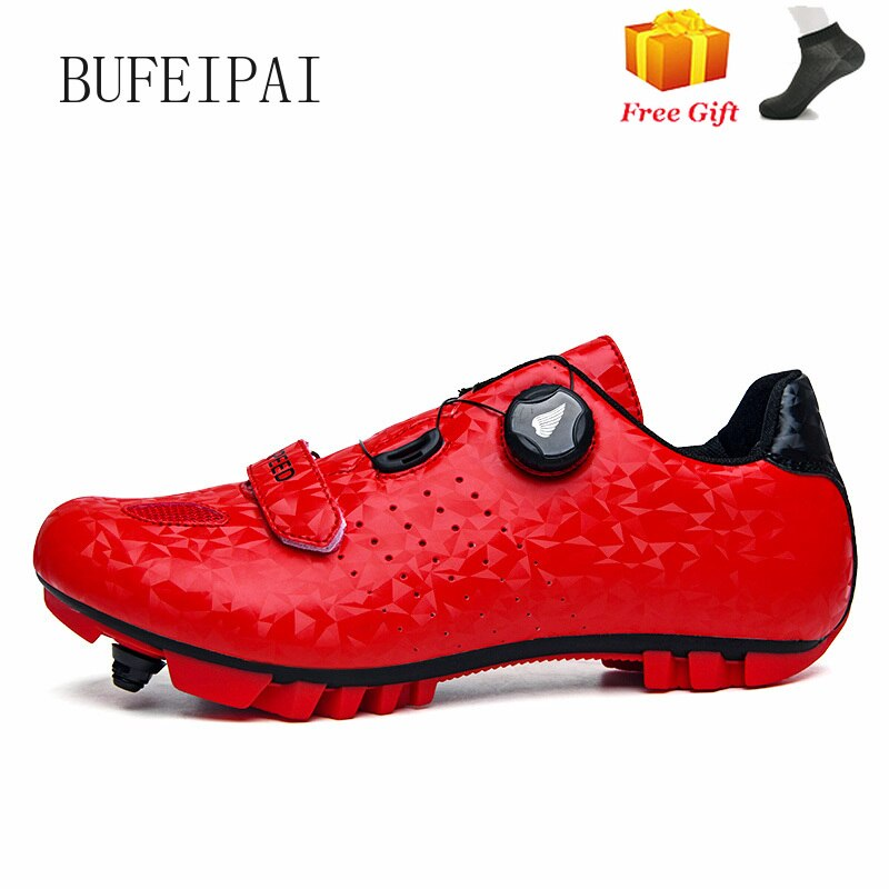 Professional SPD Cleat Cycling Shoes MTB Mountain Bike Non-Slip Sneakers Men Breathable Racing RoadBicycle 8