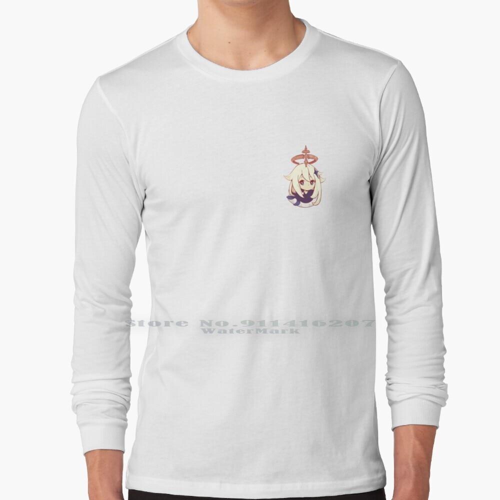 Paimon Genshin Impact Long Sleeve T Shirt Paimon Paimon Genshin Impact Cute Game Gamer Kawaii Genshin Impact Mihoyo