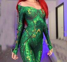 Nieuwe Vrouwen Kids Movie Aquaman Mera Queen Cosplay Kostuum Lycra Spandex Kostuum Zentai Swim Bodysuit Pak Jumpsuits