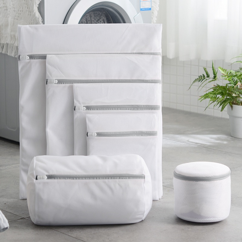 11 madhësi çanta për lavanderi rrjetë poliestër lavanderi çanta - Magazinimi dhe organizimi në shtëpi - Foto 3