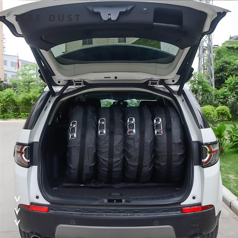4 шт. чехол для запасных автомобильных шин чехол из полиэстера сумки для хранения автомобильных колес и шин аксессуары для автомобильных ши...