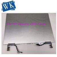 original 38402160 for hp spectre x360 13 ae055tu 13 ae015ca 13 ae series lcd display touchscreen digitizer assembly silver