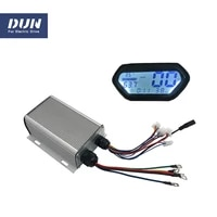 45a hall speed brushless controller 1000w with regenerative function n2 display for electric scooter