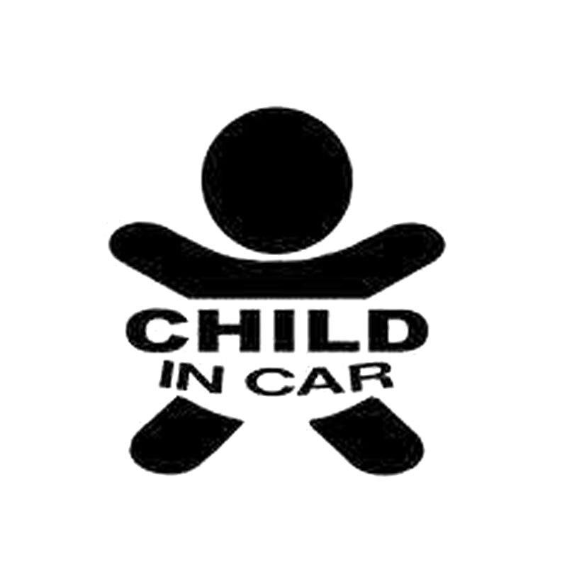 Автомобильные наклейки, Детские в автомобиле, детские наклейки, декоративные наклейки для автомобиля, подходят для различных моделей черно...