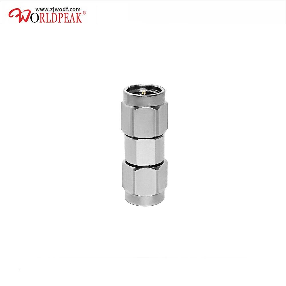 محول موصل عالي التردد من الفولاذ المقاوم للصدأ ، 5 جرام ، 3.5 مللي متر ذكر إلى 3.5 مللي متر ، شحن مجاني