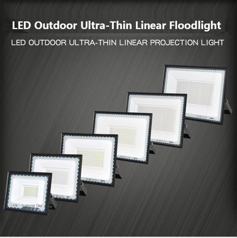 Reflector Led para exteriores, iluminación publicitaria para exteriores, lámpara de proyección ultrafina,...