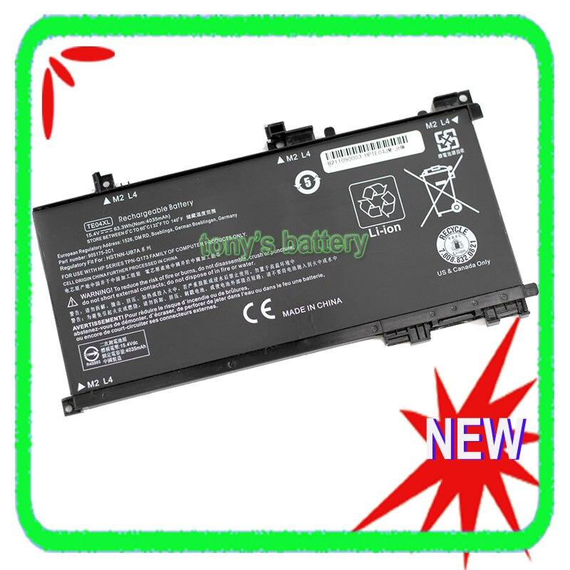 جديد TE04XL بطارية لجهاز HP فأل 15-ax200 15-ax210TX 15-ax235nd 15-ax202na bc219TX 905277-855 HSTNN-DB7T 905175-2C1 HSTNN-UB7A